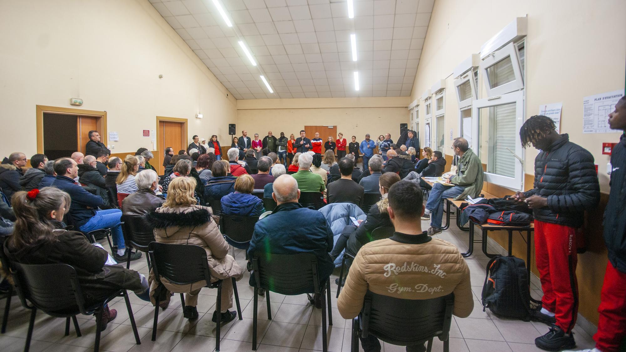 Une première réunion publique qui donne envie !